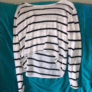 XL striped sweater